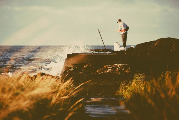 Fishing day - photography, photo - fedodes | ello