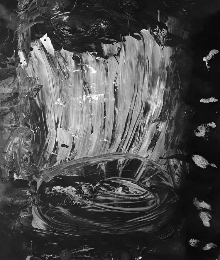 world - painting, art - martinbickel   ello