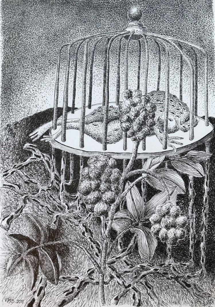 Cage' Pen paper 7,9 froglike st - vincent_bakker | ello