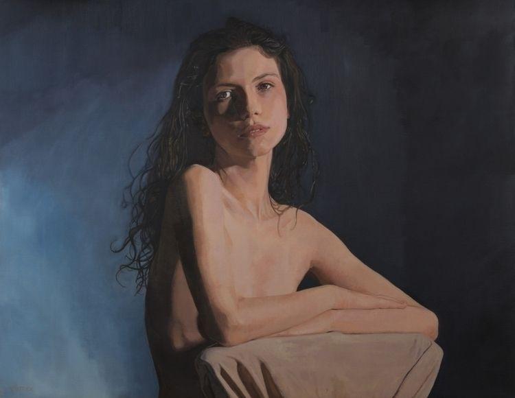 'untitled' oil canvas, 92 73 cm - zutterart | ello
