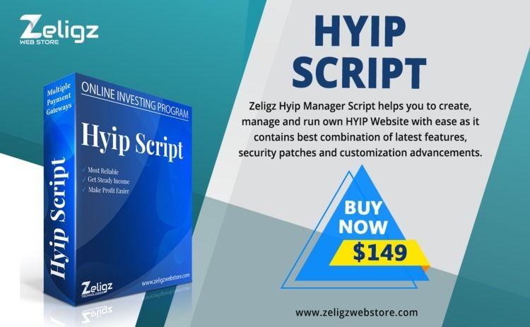 Purchase HYIP Manager Script Ze - alla_alyona | ello