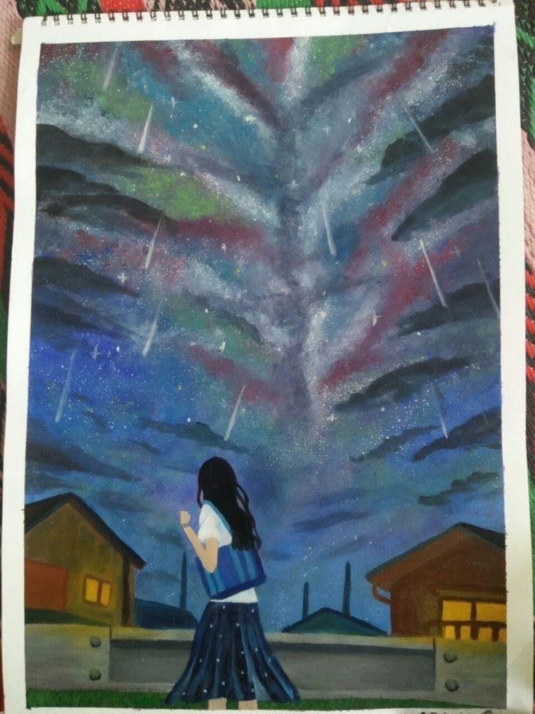 Galaxy paintings - safiasultana | ello