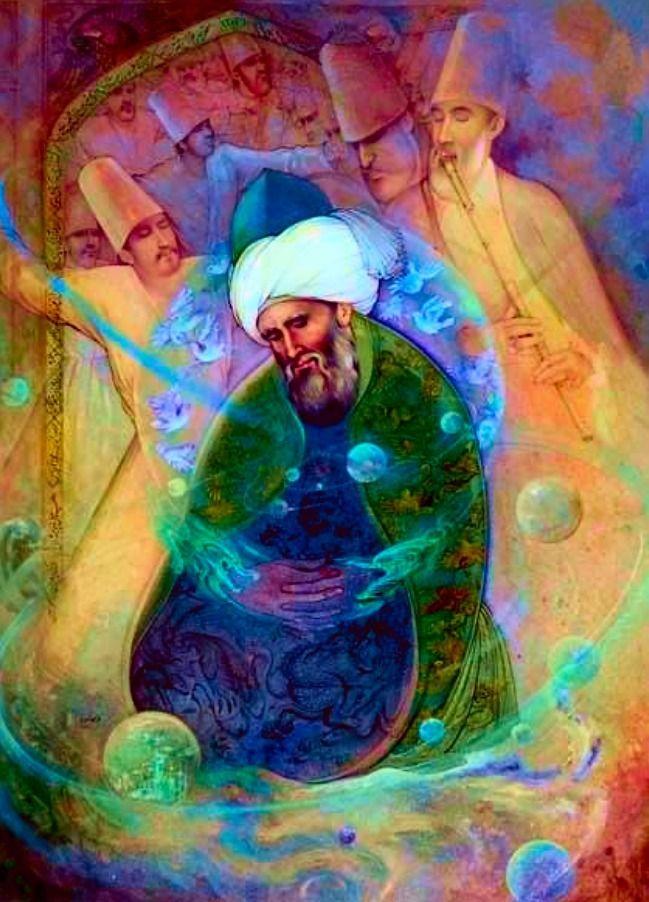 PODCAST: Meet Vegan Rumi, Sufi  - santmat   ello