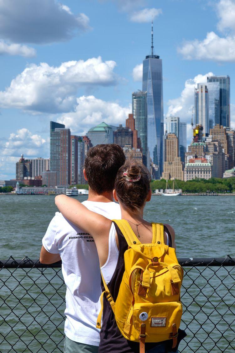 Gazing Manhattan Skyline (2019 - allunderheaven | ello