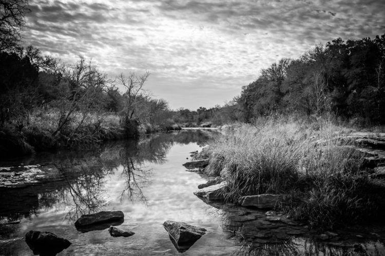 Serene River Paluxy flows Texas - 75centralphotography | ello