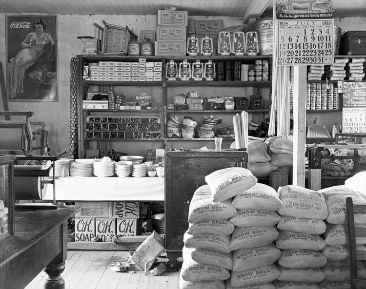 General store, 1936 - arthurboehm | ello