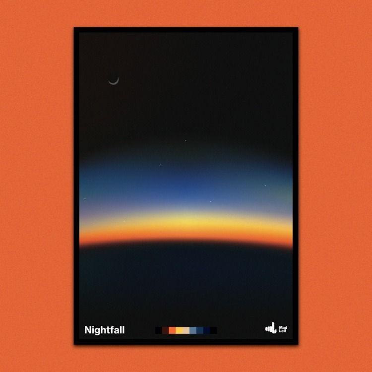 Nightfall  - poster, posterdesign - madleif | ello