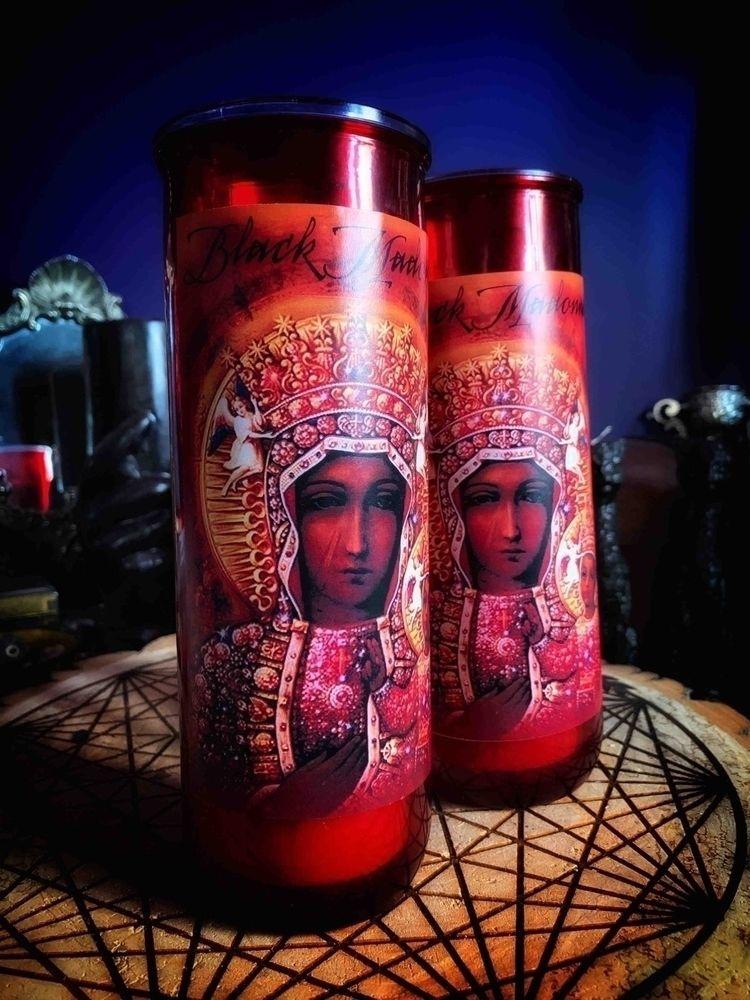 Black Madonna Vigil // image La - thewitchery | ello