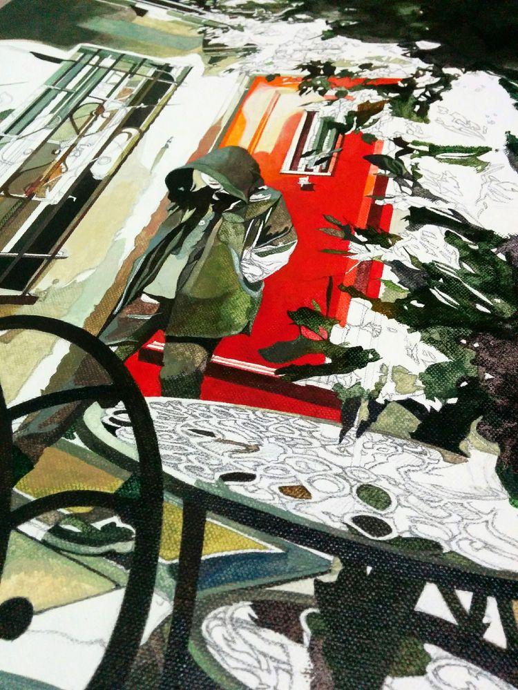 color palette '13th Hour - art, oilpainting - jolenelaiart   ello