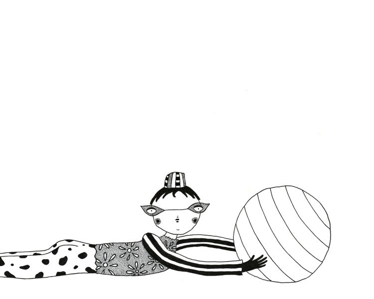 IG: tra la land - illustration, ink - tralalaland | ello