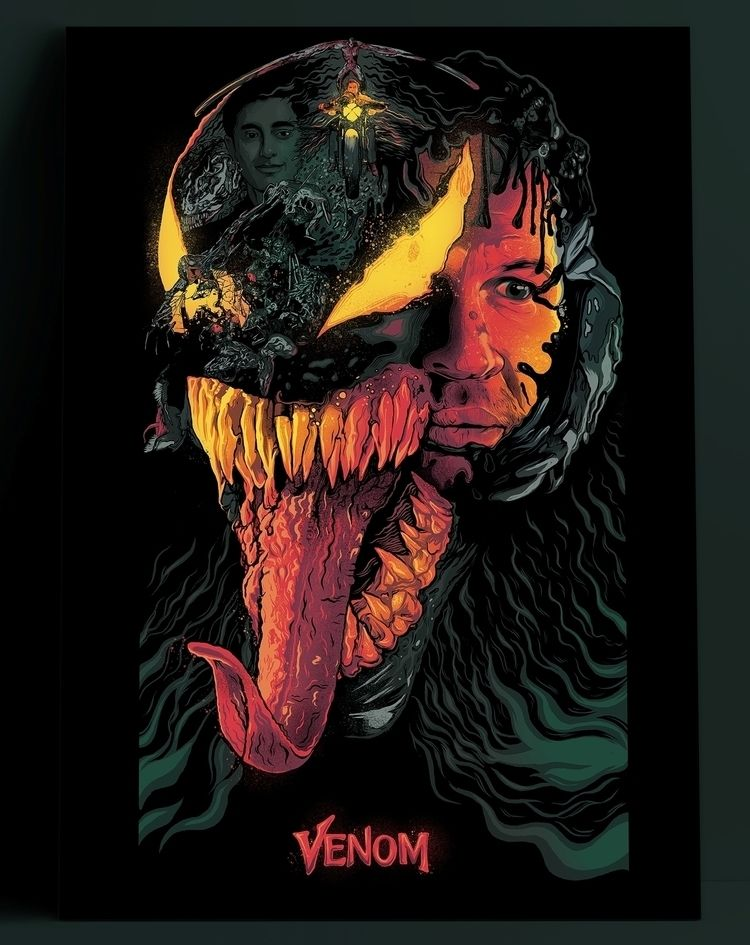 Alternative Movie Poster- Venom - thecommas | ello