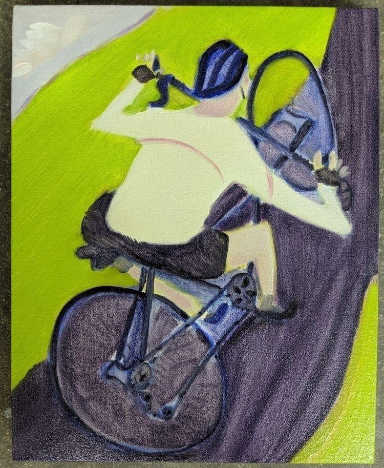 art,, cycling - markbarry | ello