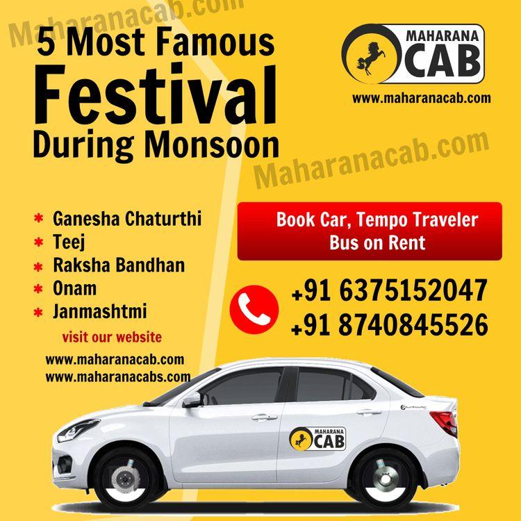 Monsoon celebration season Indi - maharanacab | ello