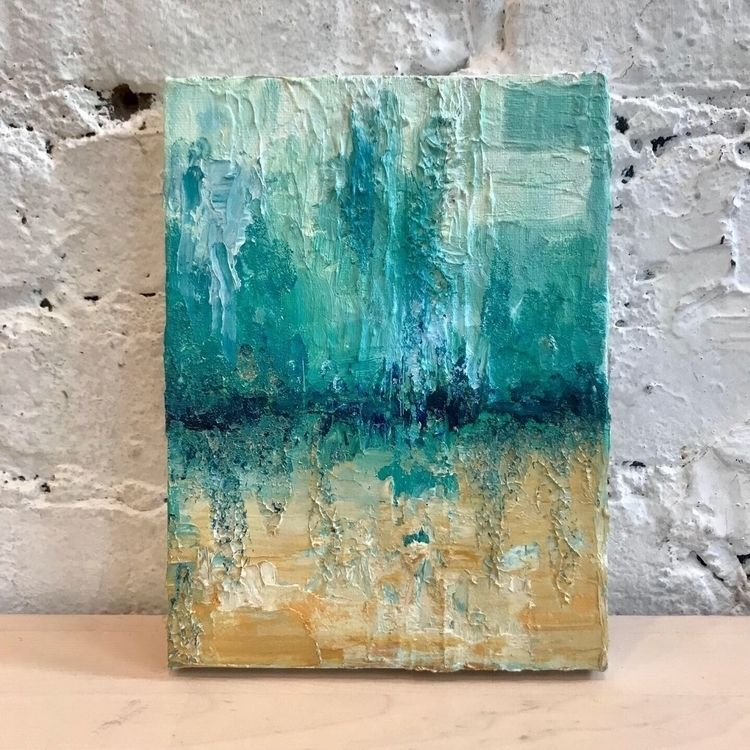 Beach Vibes - oil canvas - tartart | ello