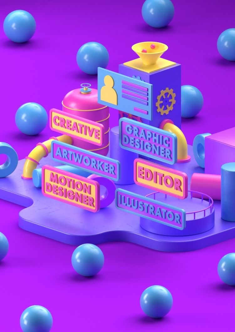 Freelancer Guide - 3D, MotionGraphics - hashmukh   ello