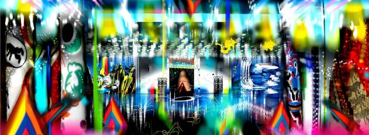 Jeremy Blake - Digital Art (197 - expositionartblog | ello