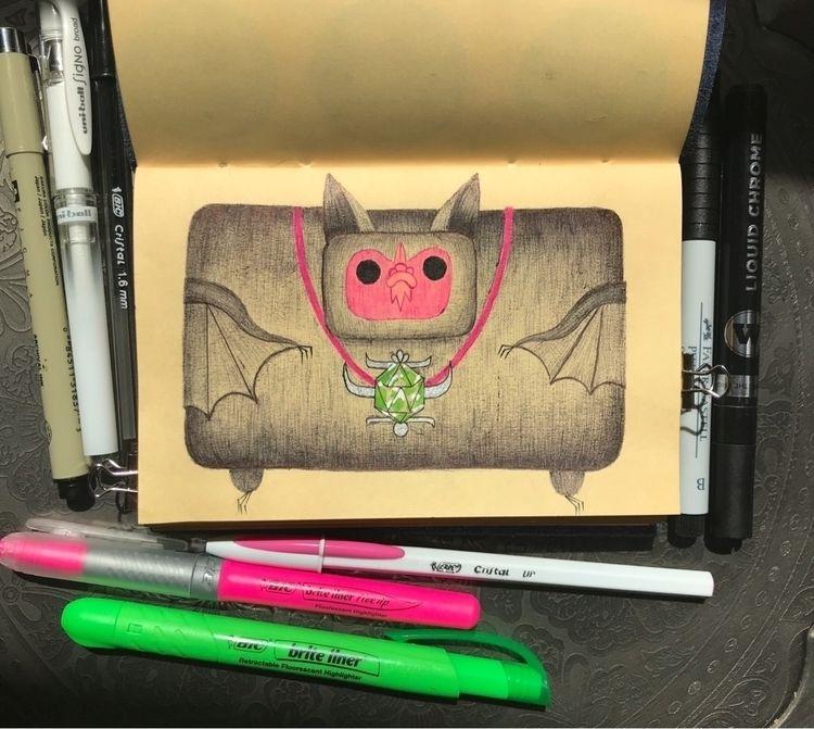 bat ballpoint pen. obsessed - bats - boontucket | ello