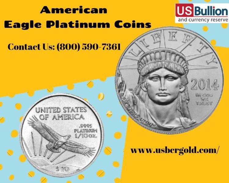Buy American Eagle Platinum Coi - usbcrgold | ello