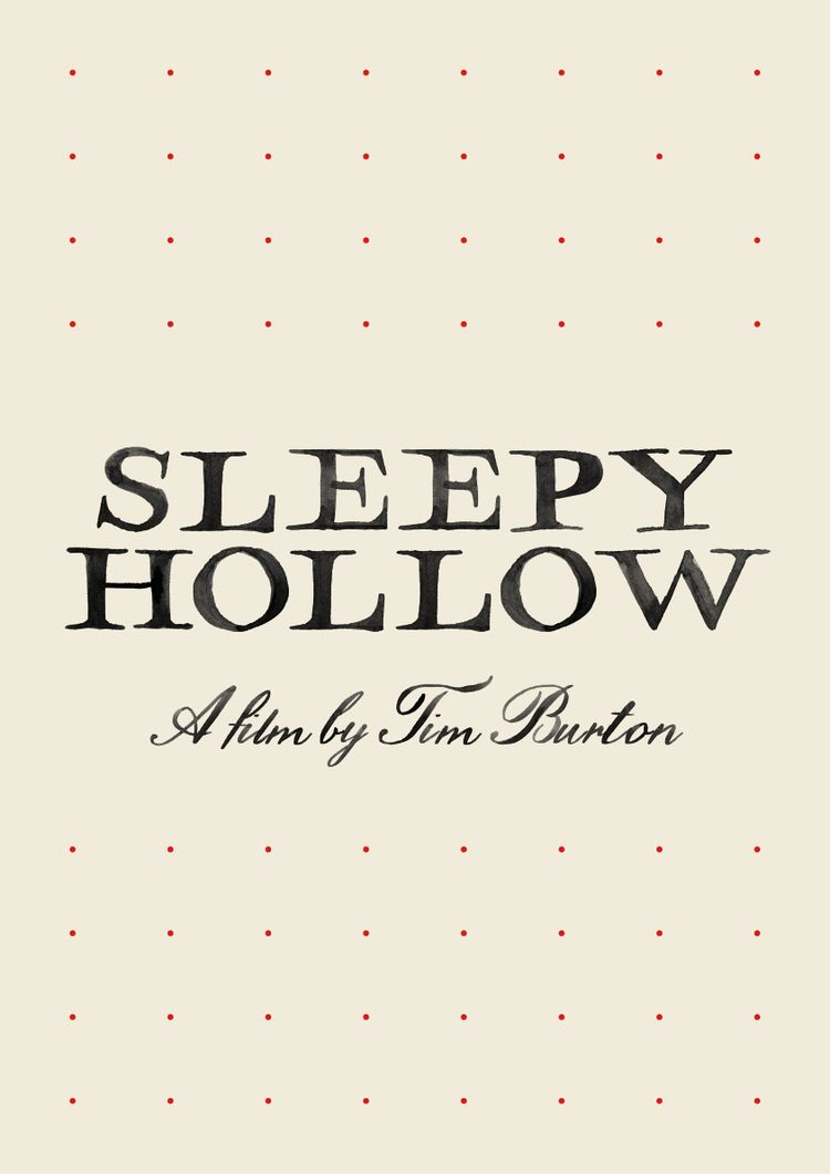 Film poster Sleepy Hollow (1999 - sarahschrauwen | ello