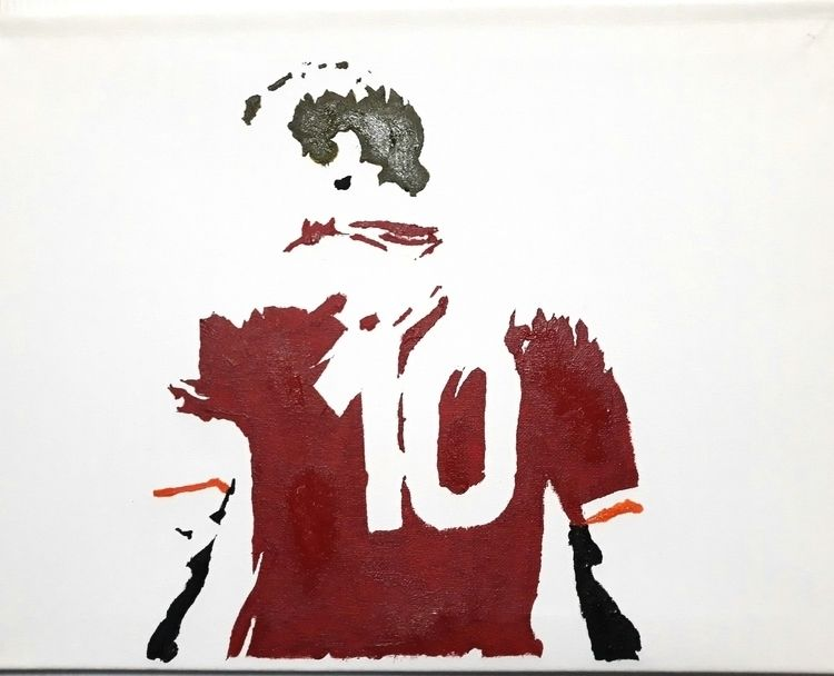 UnFinished Totti 2018 Acrylic c - nilin | ello