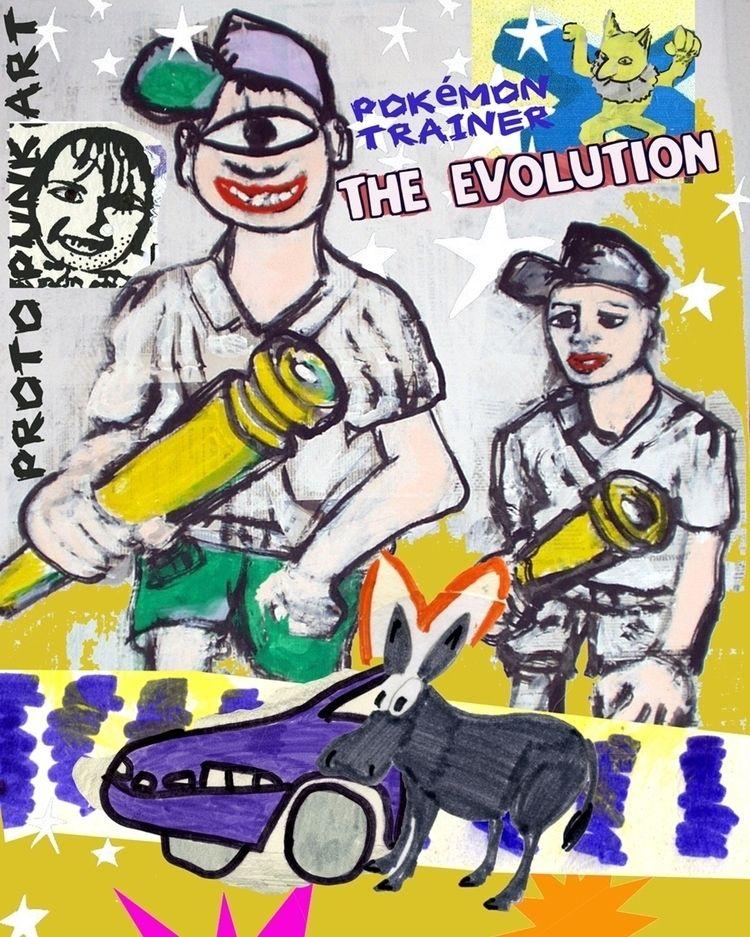 Pokémon Trainer - Evolution guy - boraistudio | ello