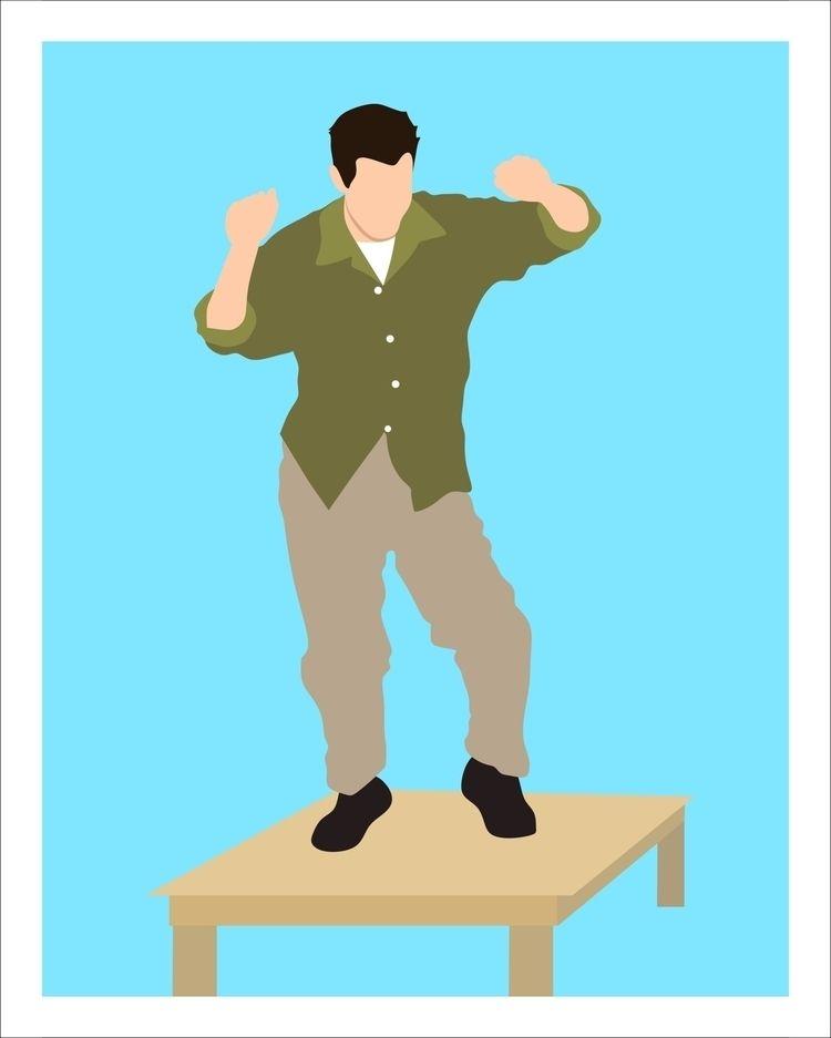 Ilustration inspired Chandler F - sunmenna | ello