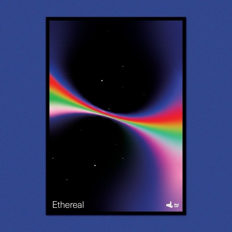Ethereal  - poster, posterdesign - madleif | ello