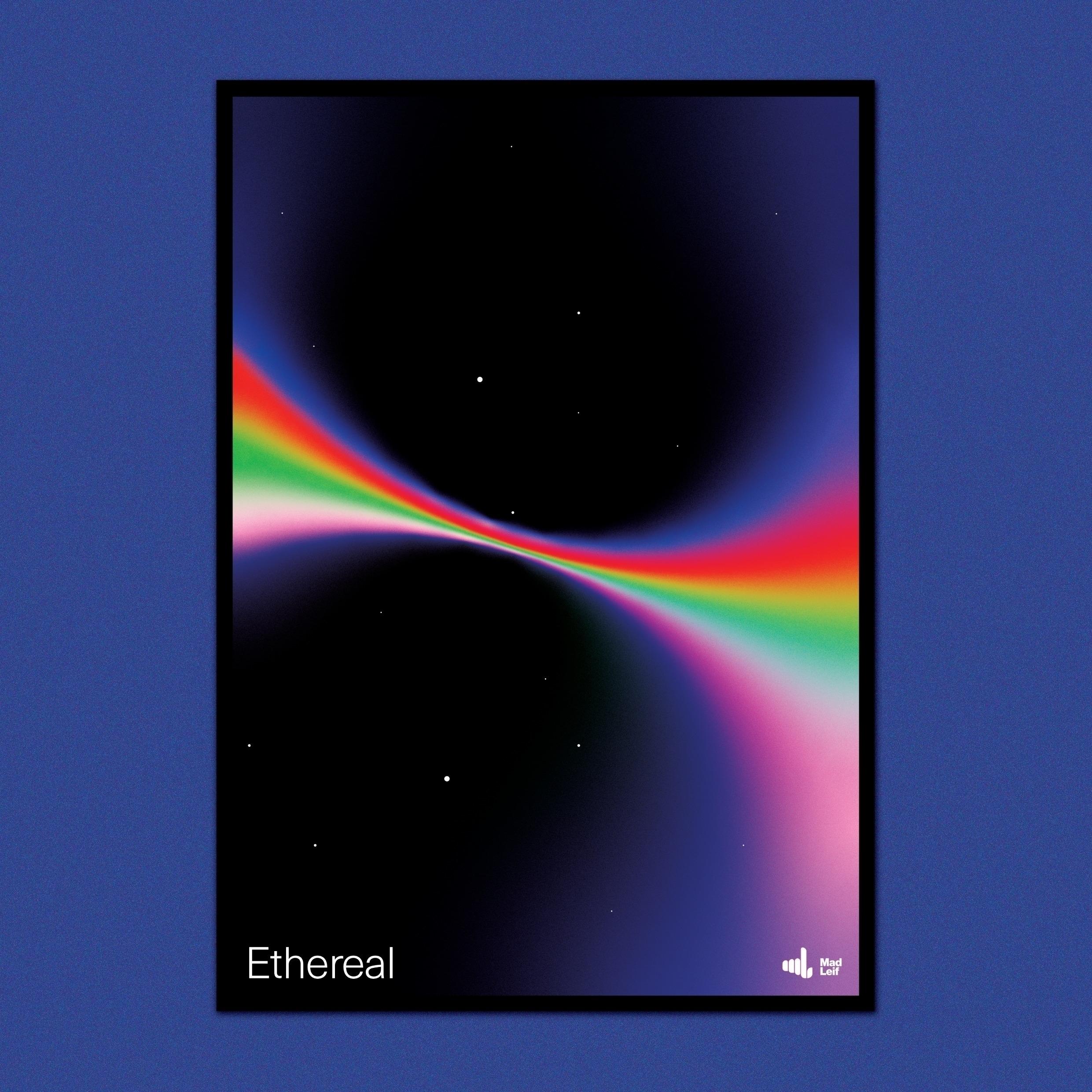 Ethereal  - poster, posterdesign - madleif   ello