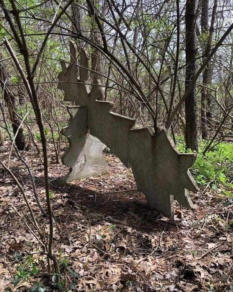 sculpture 1982 lurking woods 37 - stevenlarson   ello