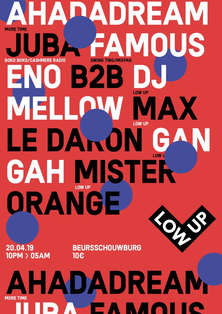 Poster Lowup Party - timcolmant | ello