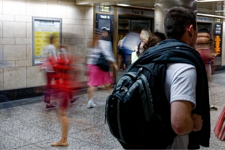 Slow exposure fast city: Penn S - xiomaro | ello