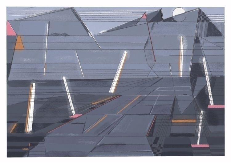 Graveyard dance - art, abstract - kobayashi_issa | ello