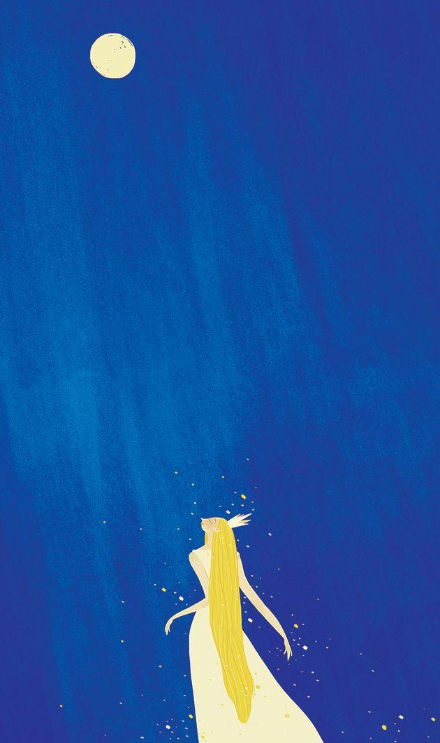 illustration, mygirl, drawing - nhunguyet | ello