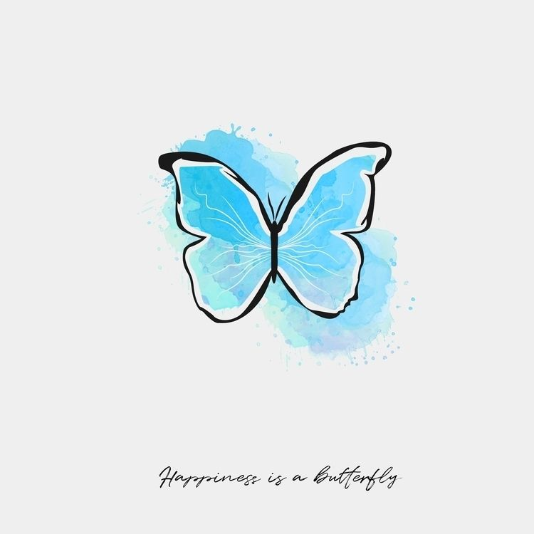 Song: Happiness butterfly Lana  - silvermoon_graphics | ello