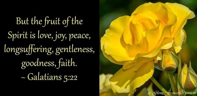 Love, Joy, Peace fruit Spirit l - scriptureasart | ello
