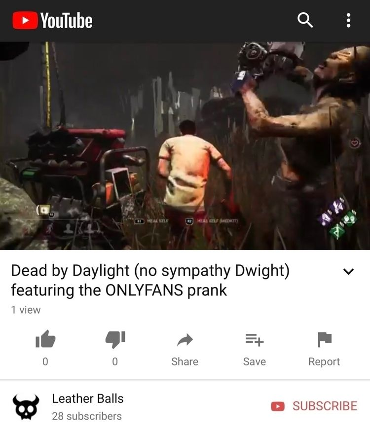 Gaming YouTube - deadbydaylight - leather666 | ello