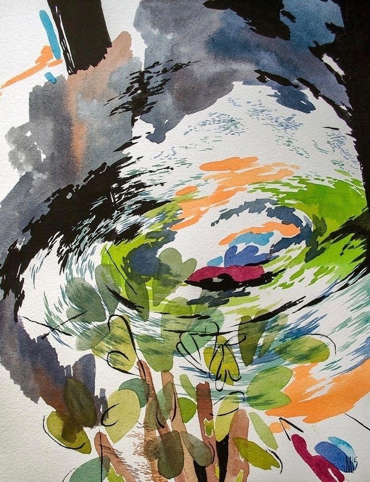 Watercolor gouache paper, 8x11 - jacobvanloon | ello