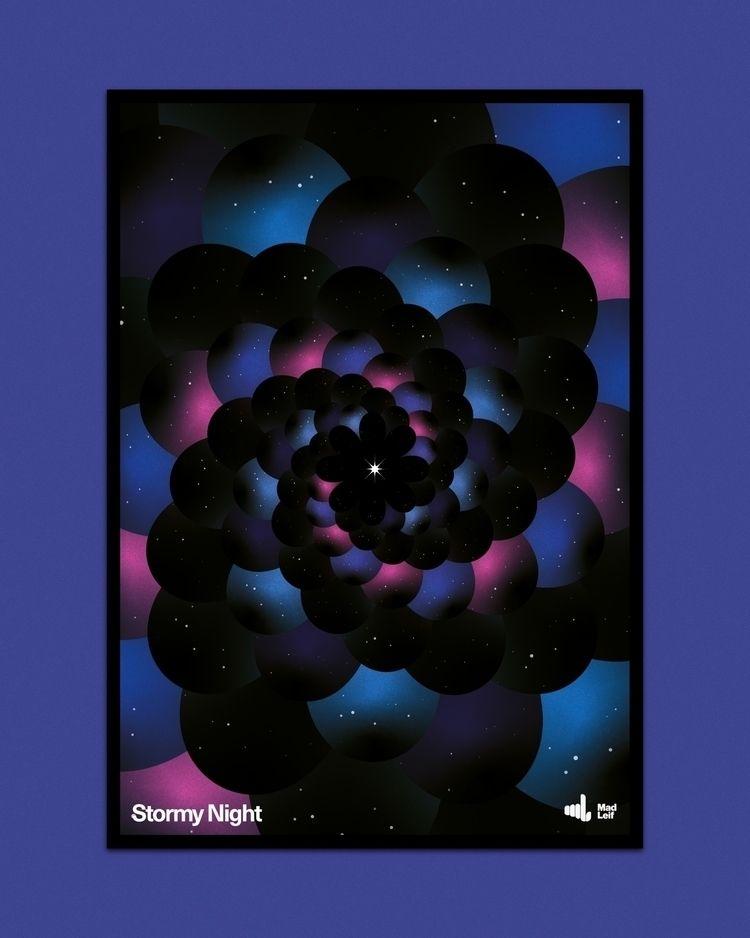 Stormy Night  - poster, posterdesign - madleif | ello