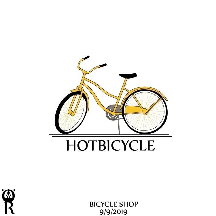 Bicycle shop logo desgin - omarraaftdesginer | ello
