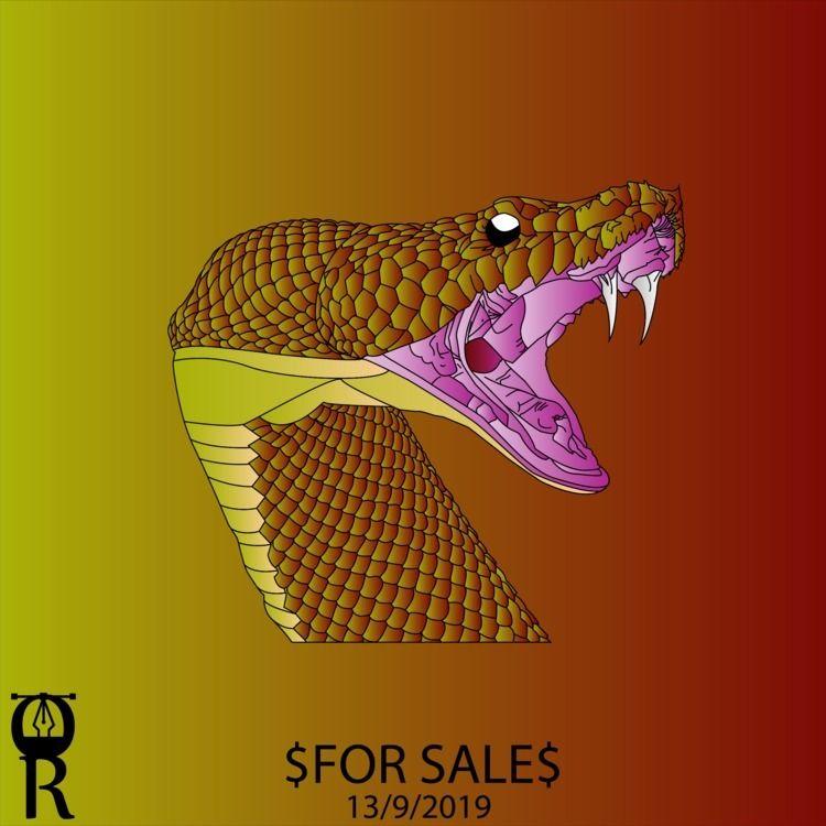 Anaconda illustration sale - omarraaftdesginer   ello