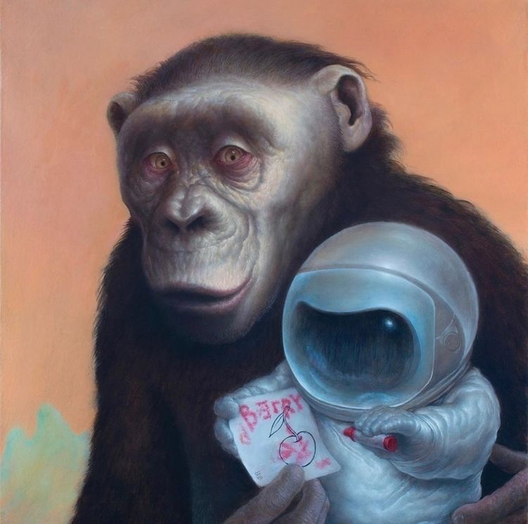 𝔟𝔩𝔬𝔤: astronauts bonobos Chris  - neoncart | ello
