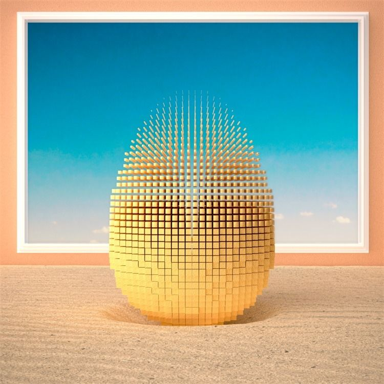 Fragmented egg. licensing artgr - ionsounds | ello