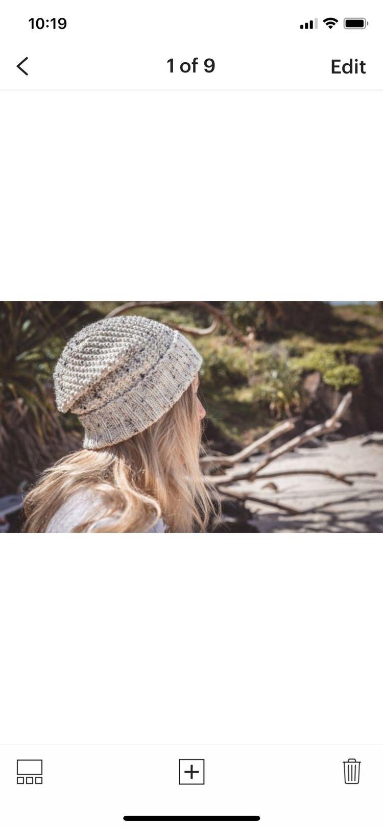 Oatmeal knitted wool beanie - siennaknits   ello