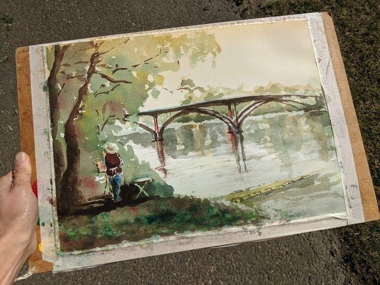 autumn rain coming Portland. st - karenliu | ello