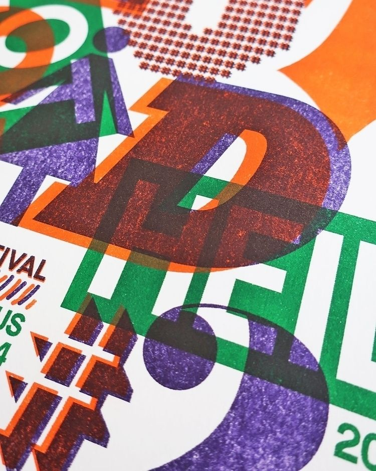 riso, risograph, poster, posterdesign - daan_haendehoch | ello