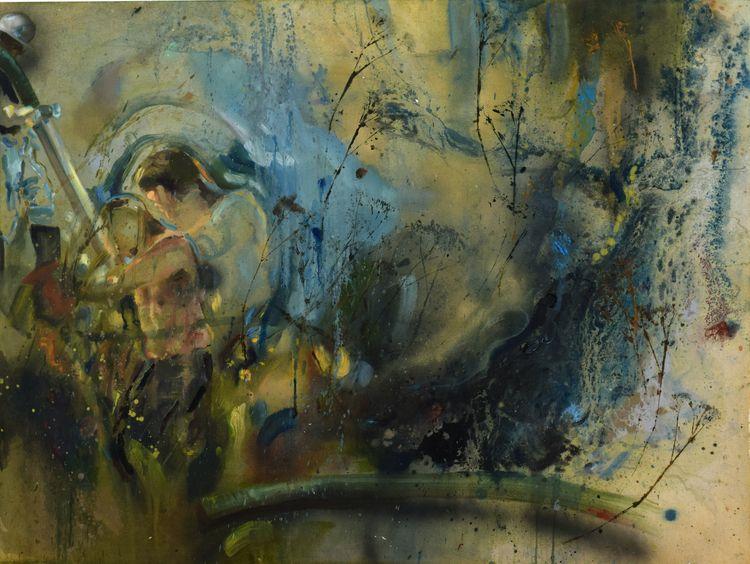 Oil Spill. Painting - rebeckyhaley | ello