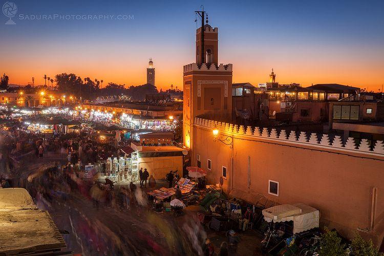 :flag-ma:Jemaa el-Fnaa Marrakes - hsphotos   ello