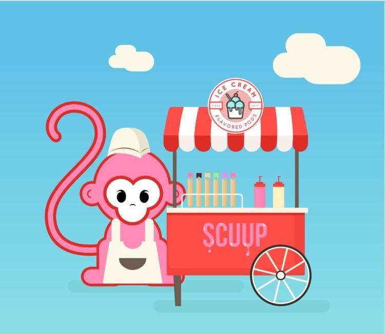 SCUUP - scream, ice cream - mnkylife | ello