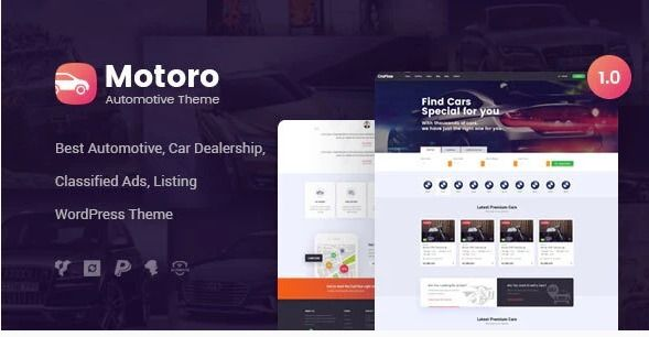 Automotive WordPress Theme! car - vbill173 | ello