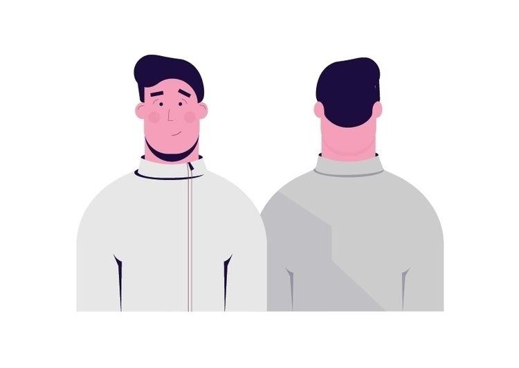 find Dribbble Character design  - anastation | ello